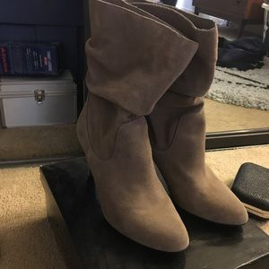 Express suede boots